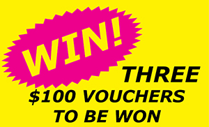 Shop online to WIN!